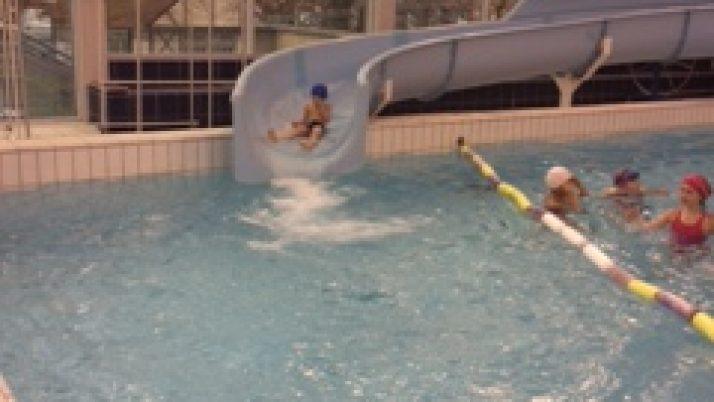 Les CP à la piscine.