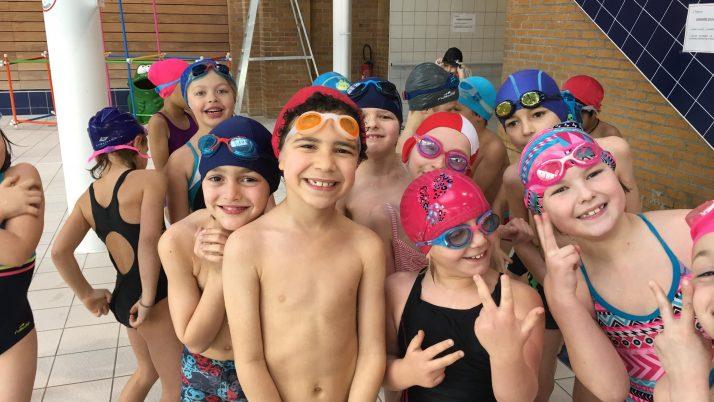 La piscine en CE1-2