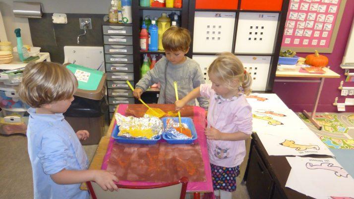 Ateliers arts plastiques en MS2