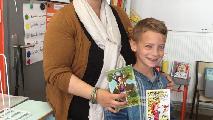 Les CE1.1 invitent un auteur de livres pour enfants