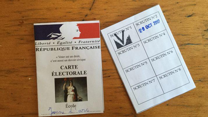 Élections à l'école Jeanne d'Arc