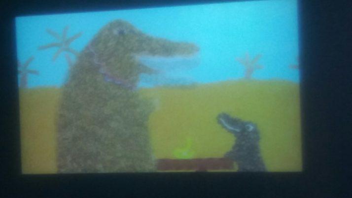 Les CE1 au cinéma à la médiathèque de La Madeleine