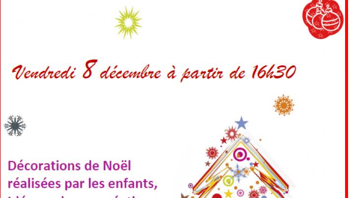 Marché de noël -8 décembre à 16h30