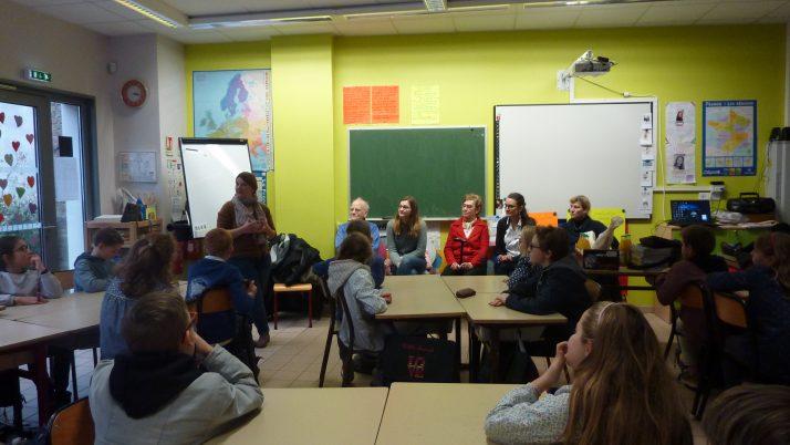 Lancement du projet musique avec les résidents de la maison Saint Maur