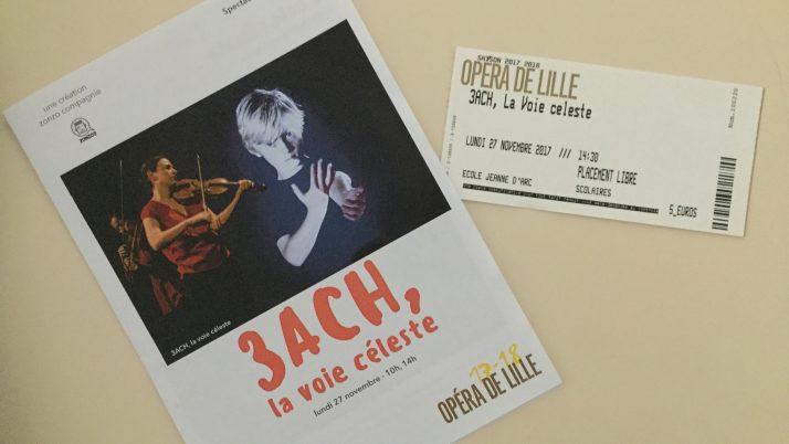 Les CM1 à l'opéra de Lille