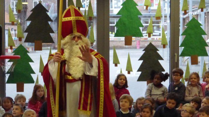 Saint Nicolas en maternelle.