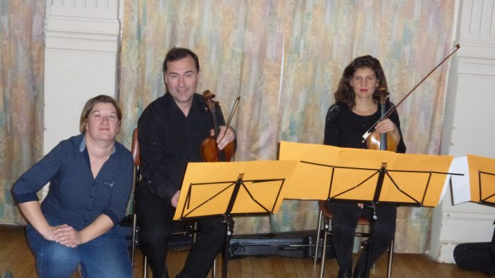 Le petit Vivaldi et le Père Noël-Le spectacle de la Résidence Saint Maur.