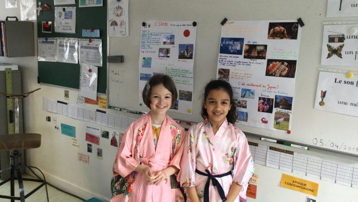 Exposé sur le Japon en CE2-1