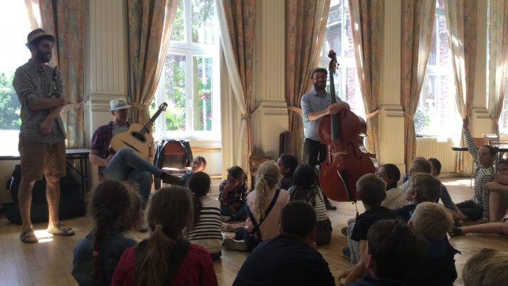 Concert de Jazz Manouche avec Swing Tchavo à la résidence St Mau