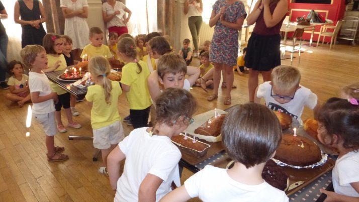 Danses et anniversaires de  juillet et août à Saint Maur. MS